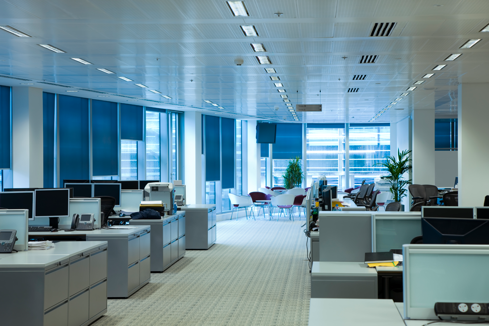 professional commercial office cleaning